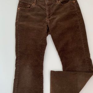 Polo Ralph Lauren  10/30 brown corduroy bootcut